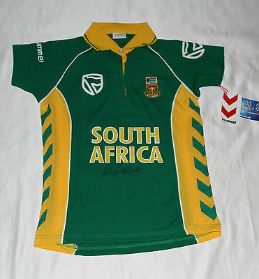 AB de Villiers Signed South Africa ODI Cricket Shirt with COA