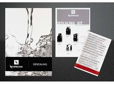 Nespresso Descaling Kit - suitable for all machines **Official**