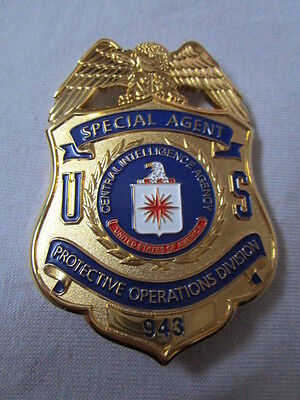 Historisches Police Badge Special Agent Protective Operations Division