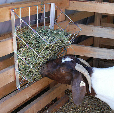 Metal Hay Basket for Goats
