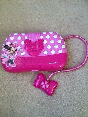 Girls Disney Minnie Mouse Clubhouse Pink Electrical Computer Handbag