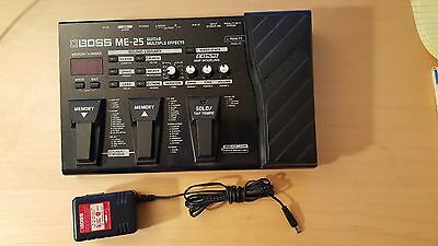 Boss ME-25 Multi-effects Guitar Pedal with A/C Power Supply