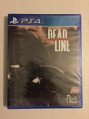 Breach & Clear Deadline Sony Playstation PS4 Brand New & Sealed Limited Run Game