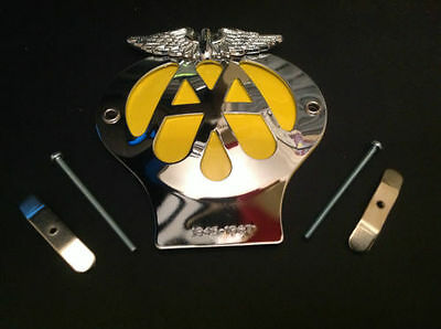CLASSIC AA CAR BADGE 1945-1967  Limited Edition Badge 2
