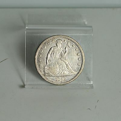 1842 Liberty Seated Dollar - VF (#3978)