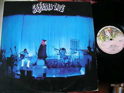 GENESIS  -     Genesis Live,    ORIGINAL 1973 UK FIRST PRESS LP..... NICE COPY