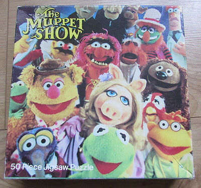 Fab Rare Vintage 1981 The Muppet Show 50 Piece Jigsaw Puzzle Jim Henson Muppets