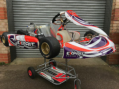 TONY KART EXPRIT 2018 Racer 401S Chassis - With New X30