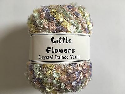 Crystal Palace Yarns Fling #3535 Berry Paper Flag Metallic Sparkle 50g