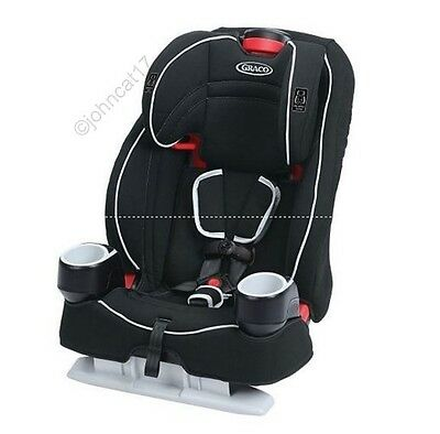 Graco Atlas 65 2in1 Harness Booster Car Seat in Glacier - New and Free Shipping