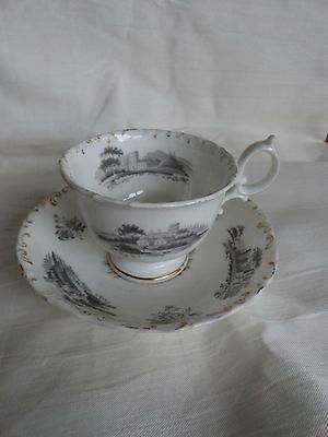 SPODE CUP & SAUCER marked 41748