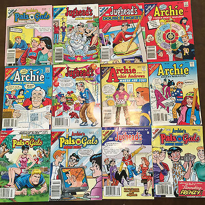 Lot of 12 Archie/Jughead Digests