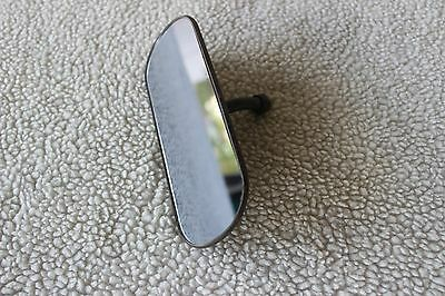 Vintage Rear View Mirror  Metal 6.5 X 2.5 inches long Military Jeep ?