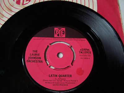Laurie Johnson - Latin Quarter / M.i. Theme From Tv Series Riviera Police