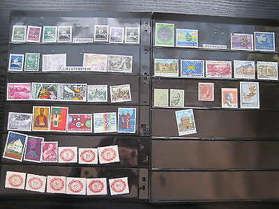 About 500 stamps from Europe on 10 stock pages. All stamps shown.(P144)