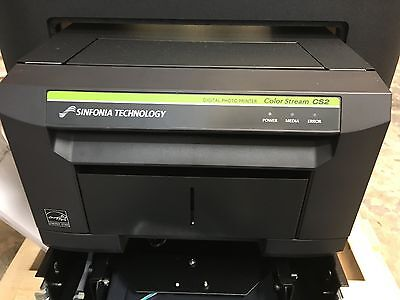 New Sinfonia Technology CS2 Color Stream Photo Booth Printer