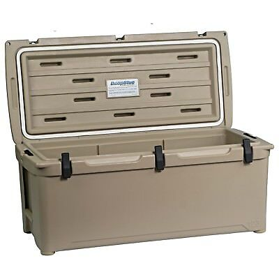 NEW Engel 123 DeepBlue Roto-Molded High-Performance Cooler in Tan Color