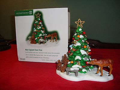 Dept 56 New England Village NEW ENGLAND TOWN TREE 56695