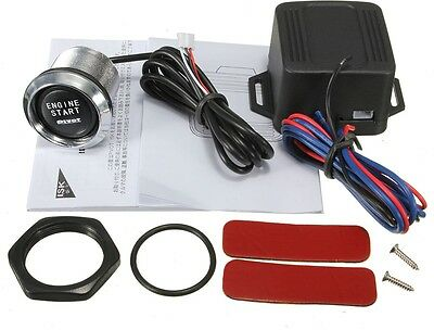 Universal Car Engine Start Push Button Switch Ignition Starter Kit