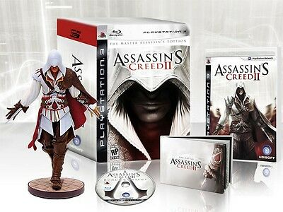 Assassin's Creed II 2: Master Assassin's Edition [PlayStation 3 PS3, Action] NEW