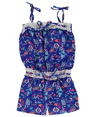 """Limited Too Little Girls' Toddler """"Crocheted Angles"""" Romper (Sizes 2T - 4T)"""