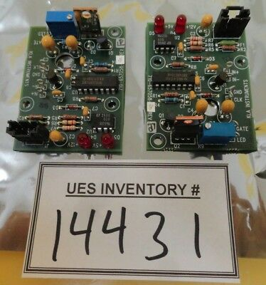 KLA Instruments 710-657058-20 A/F LED Driver PCB Set of 2 2132 Used Working