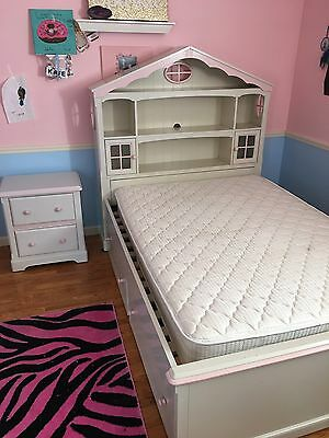 Princess Bed (Full) with Matching Nightstand