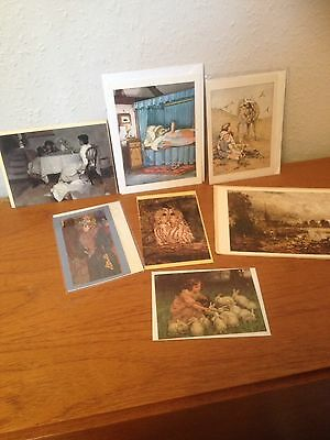 Vintage Cards and Postcards: 7pc. 1970s. Good Vintage Condition