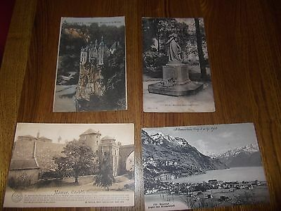 Four Old Post Cards