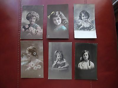Six Old Post Cards