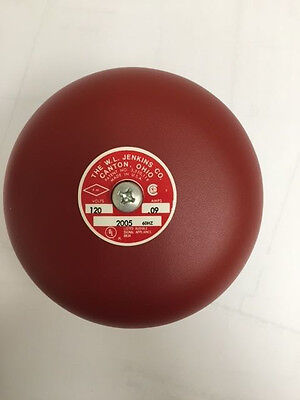 "6"" Jenkins Electric Bell 120v"