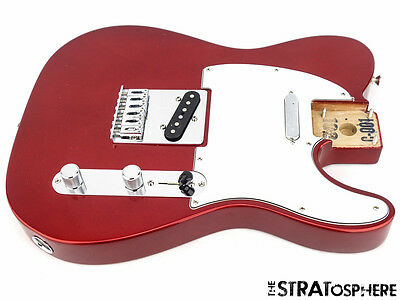 LOADED 2016 Fender Standard Telecaster Tele BODY Guitar Parts Candy Apple Red