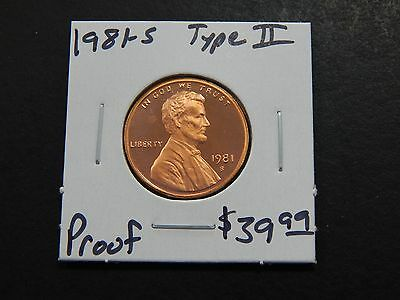 1981-S Type II Proof Lincoln Memorial Cent - Nice Coin Type 2