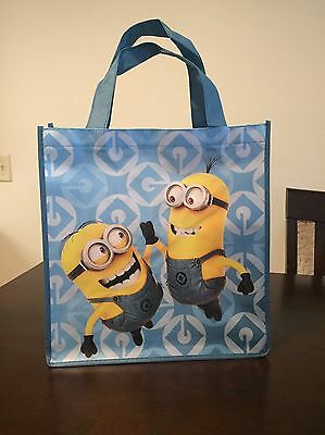 New Despicable Me Minion Lightweight Canvas Tote Bag Reusable