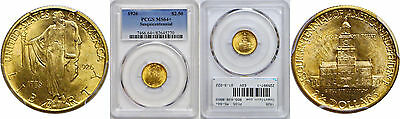 1926 Sesquicentennial $2 1/2 Gold Commemorative PCGS MS-64+