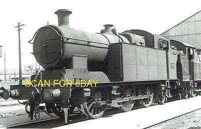 Railway Photo GWR (ex-Taff Vale Rly A Class) 062T No 346 at Cathays mpd 1947