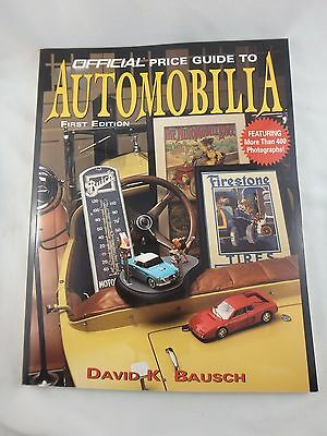 1996 Official Price Guide To Automobilia First Edition - David K. Bausch