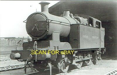 Railway Photo GWR (ex-Taff Vale Rly A Class) 062T No 347 at Cathays mpd 1935