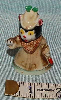 Antique Vintage Pottery Wade Whimsy Miss Fluffy from Noddy Set c1950s