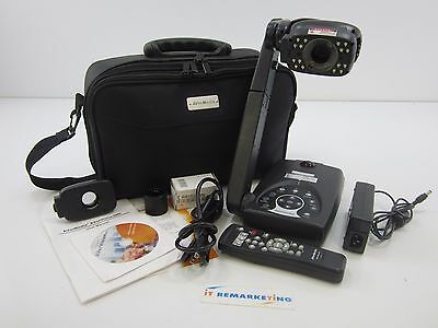 AVerMedia AVerVision300i Document Camera Visual Presenter w/ Remote & Pwr Adpt.