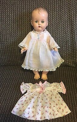 "1950s 14"" Ideal Betsy Wetsy Hard Plastic Head Vinyl Body ADORABLE!"