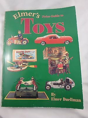 1995 Elmer's Price Guide To Toys  Softcover - Duellman