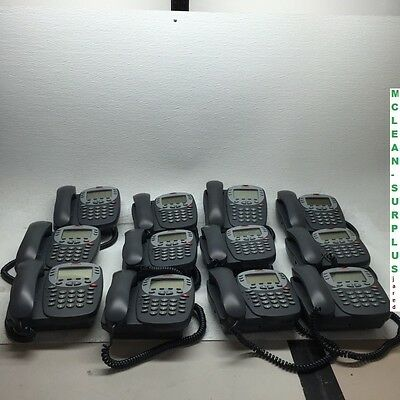Lot of 12 Avaya IP 5410 Digital Display Office Business Telephones (700345291)