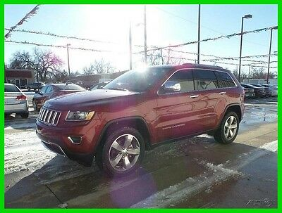 2015 Jeep Grand Cherokee Limited 2015 Limited Used 3.6L V6 24V Automatic SUV
