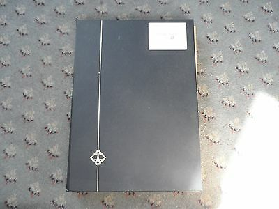 France & Colonies stamps and large A4 stock book