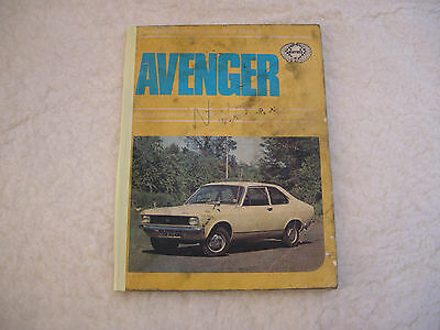 Avenger Haynes Paperback Maintenance Manual