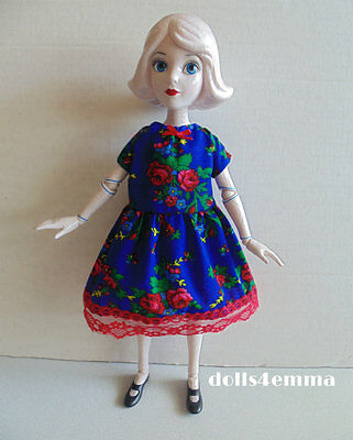 """Baby-Doll DRESS handmade clothes for 14"""" China Doll Wizard of Oz Disney NO DOLL"""