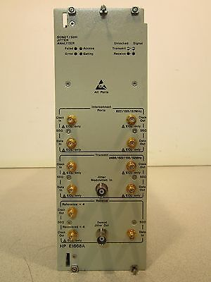 Sonet/SDH Jitter Analyzer E1668A, Series: 90, Option: None, 622/155/52MHz, NICE!