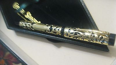 Conway Stewart Centenary 18K Gold Overlay Limited Edition Fountain Pen 2 of 10
