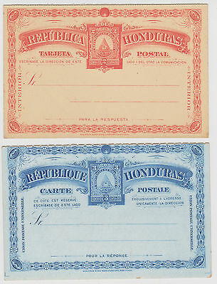 Stamps Honduras Early Pre-stamped Postal Cards